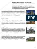 Cinco destacados tesoros del románico en Ourense