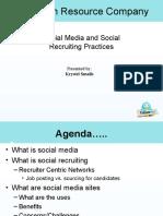 Social Media Presentation for 3.4.10 Final