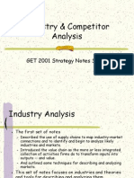 IndustryCompetitorAnalysis