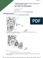 Substituição Do Cilindro Atuador Da Embreagem