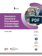 Elaboracion Planes Municipales Girs 2008