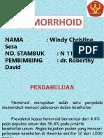 Hemorrhoid Windy