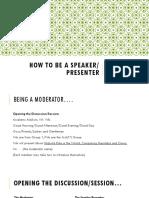 7th Meeting (Presentation Skills)