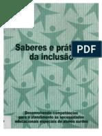 livro de saberes e pratica da inclusão dos surdos