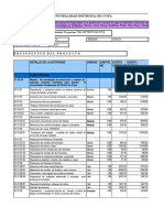 Presupuesto Forestal
