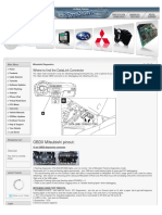 Mitsubishi DiagnosticsOBD Guide