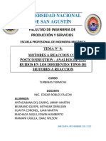 Tema 9. Postcombustion en Motores Termicos de Reaccion