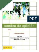 Sondeo 2011-2a
