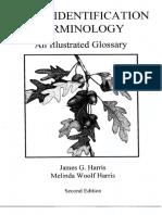 HARRIS HARRIS 2001 Plant Identification Terminology