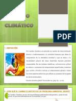 GRUPO 1 Cambio Climático