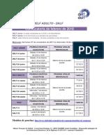 Convocatorias de Exámenes de Francés 2018