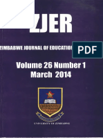 Chinamasa,E. Analysis of Student's Errors (ZJER Vol 26 No 1)