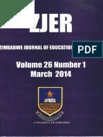 Chinamasa,E. Analysis of Student's Errors (ZJER Vol 26 No 1)