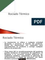ROCIADO TERMICO - METALISADO
