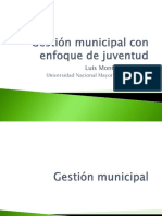 Gestión Juvenil Local en el Perú
