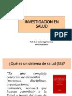 Investigacion en Salud