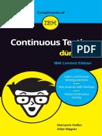 Continuous Testing IBM