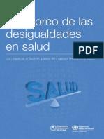 Manual Para El Monitoreo de Las Desigualdades en Salud WHO PAHO 2013-2016