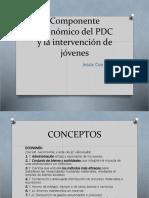 Componente Económico Del PDC