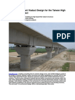 Seismic Resistant Viaduct Design for the Taiwan High Speed Rail Project