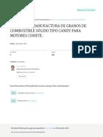 Proceso de Manufactura de Granos de Combustible Sólido tipo Candy para Motores Cohete - Entrega 2.pdf
