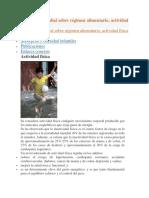 Estrategia mundial sobre régimen alimentario, actividad física y salud