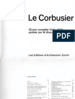 Le Corbusier Complete Works in Eight Volumes Vol. 5 - 1946-1952