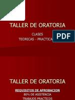 Taller de Oratoria Clase 1