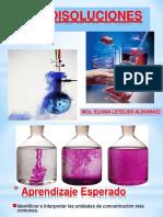 Clase Disoluciones Quimicas