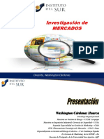 1U Proceso de Investigaciòn INVESMER ISUR Wch 2016
