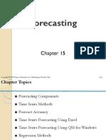 9. Chp 15 Forecasting