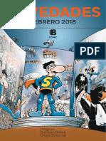Novedades B Comic febrero 2018