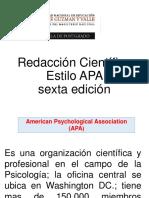 Redacción Científica APA