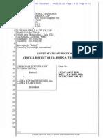 Scientology v. DeCrescenzo Federal Complaint