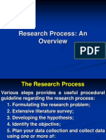 RM2. Research Process an Overview