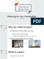 1. Planning Your Essay