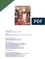 Liste Des Encycliques (1800-1878)