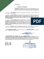 Affidavit of Service 08.03