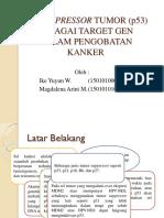 Biomol Ike yuyun GEN SUPRESSOR TUMOR (p53).pptx