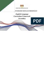 Secondary Curriculum Framework 2018