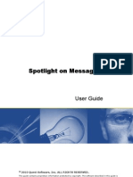 Spotlight on Messaging User Guide
