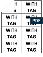 WITH TAG