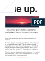 2018 Astro Forecast by Allison Rae