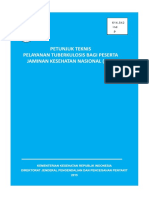 Buku Petunjuk Teknis Pelayanan TB Bagi Peserta JKN 2015 JKN 2
