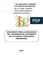 Reglamento Clase de Suficiencia Profesional (1)