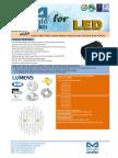 eLED-LUME-7080 Lumens Modular Passive Star LED Heat Sink Φ70mm.pdf