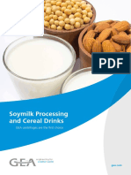 Centrifuges in Soymilk Processing and Cereal Drinks Tcm11 41267