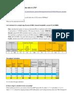 LTE Troughput Calculation v2