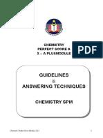 Chemistry Perfect Score Answering Technique 2012