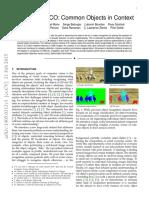 paper coco reconocimiento en contexto
